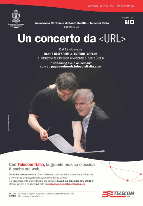 Pappano in web: annuncio on air